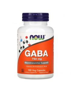 Now Foods GABA 750mg mit Vitamin B-6 100 Stk