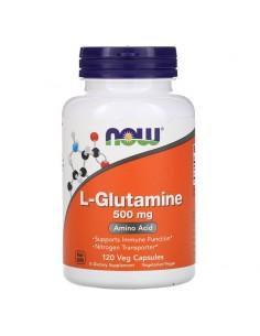Now Foods L-Glutamin 500 mg 120 Stk