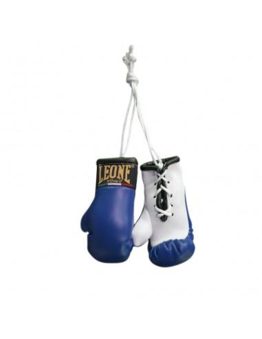 Leone Boxhandschuhe Autospiegel Anhänger Blau