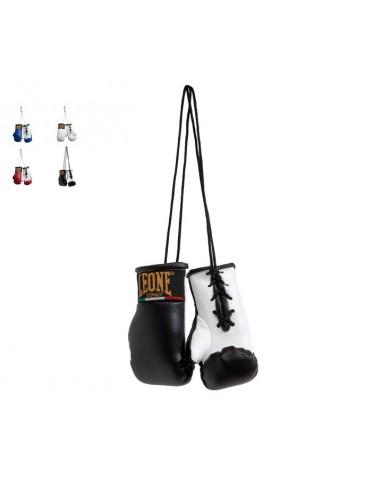 Leone Boxhandschuhe Autospiegel Anhänger Schwarz