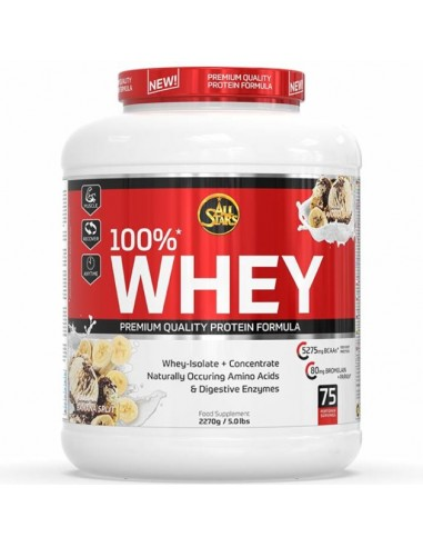 All Stars 100% Whey Protein 2350g Banana Split
