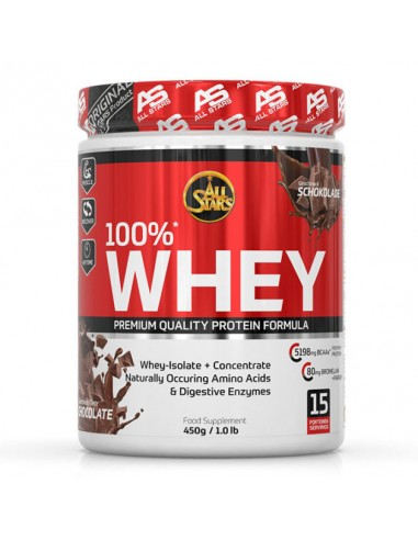 All Stars 100% Whey Protein 450g Schokolade