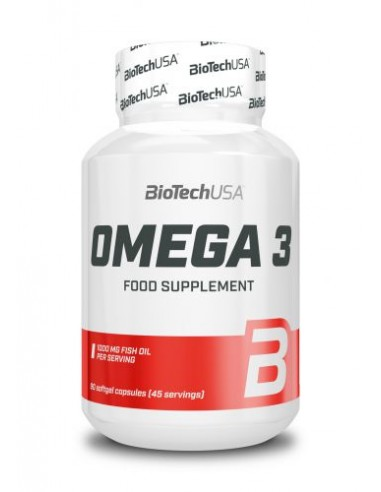 Bio Tech USA Omega 3 90 Stk