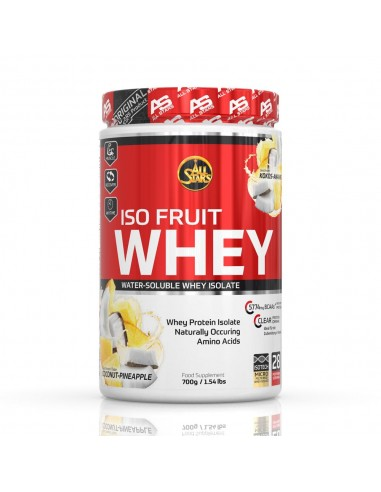 All Stars Isowhey Fruit 700g Ananans Cocos