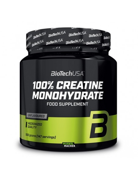 Bio Tech USA 100% Creatine Monohydrate 500g