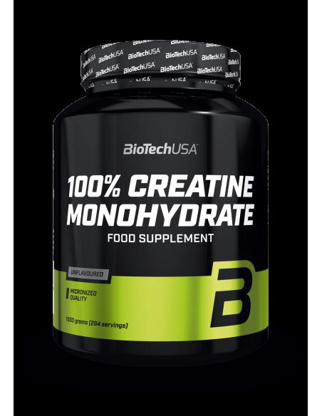 Bio Tech USA 100% Creatine Monohydrate 1kg