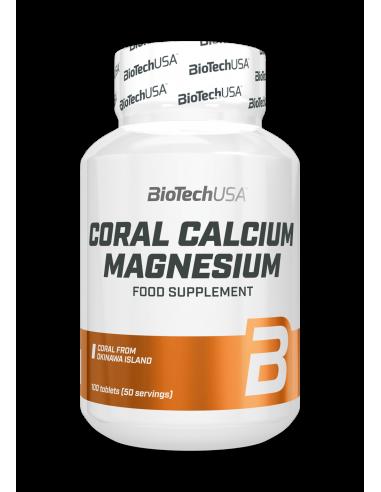 Bio Tech USA Coral Calcium-Magnesium 100 Stk