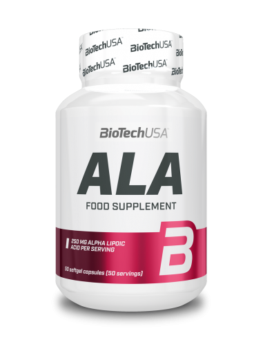 Bio Tech USA ALA -Alpha Liponsäure 50 Stk