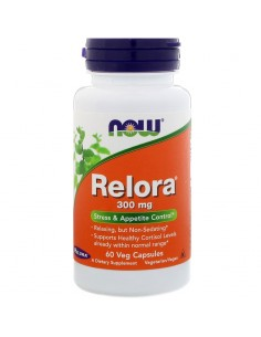 Now Foods Relora - Magnolienrinde 300mg 60 Stk