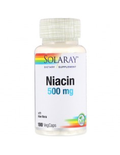 Solaray Niacin 500 mg 100 Stk