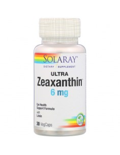 Solaray Ultra Zeaxanthin 6mg 30 Stk