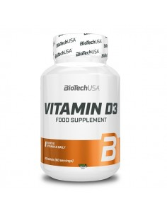 Bio Tech USA Vitamin D3 60 Stk