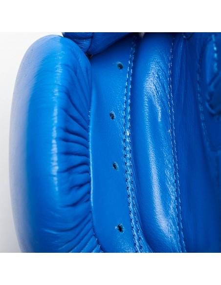 Leone Boxhandschuhe Contest Buffalo Leder blau