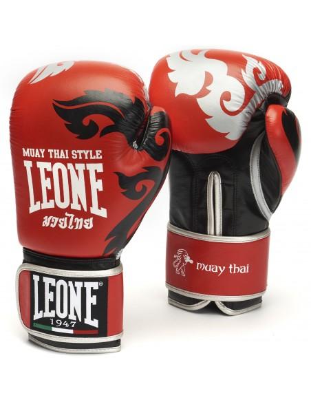 Leone Boxhandschuh Muay Thai Rot
