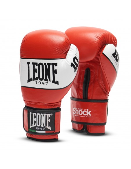 Leone Boxhandschuh Shock Rot