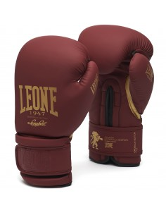 Leone Boxhandschuhe Bordeaux Edition