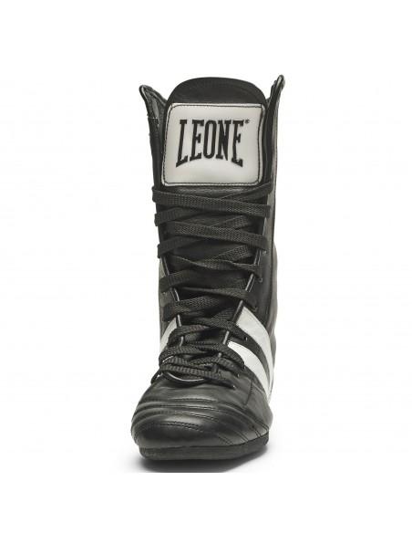 Leone Boxstiefel Handgemacht Leder Schwarz