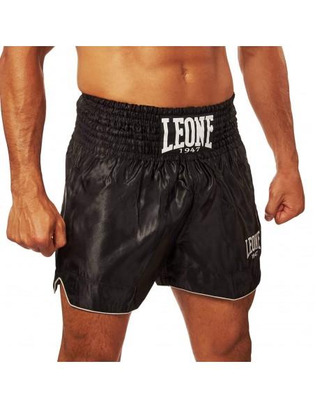 Leone Kickboxhose Basic Schwarz