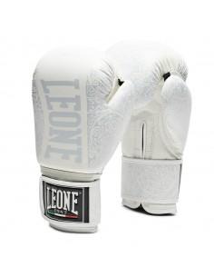 Leone Boxhandschuhe Maori weiss