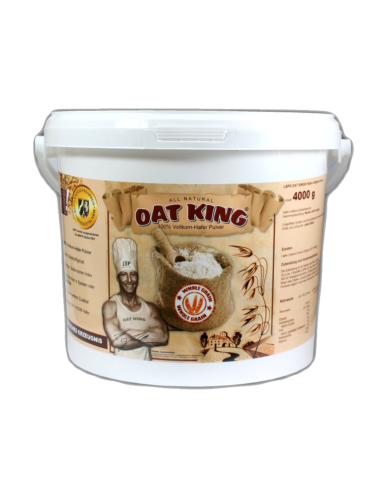 Oat King 100% Hafer Vollkorn Pulver 4kg