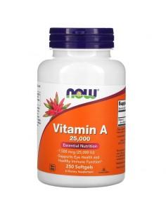 Now Foods Vitamin A 25.000 IU250 Stk
