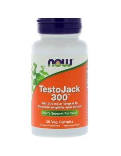 Now Foods Testo Jack 300 - Tongkat Ali Wurzel 60 Stk