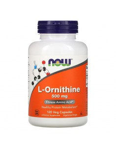 Now Foods L- Ornithin 500mg 120 Stk
