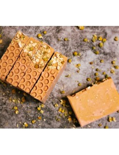 Honey and Oats – Naturseife mit rosa Tonerde und Honig
