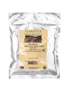 Starwest Botanicals Bio Kurkuma-Wurzel-Pulver 453g