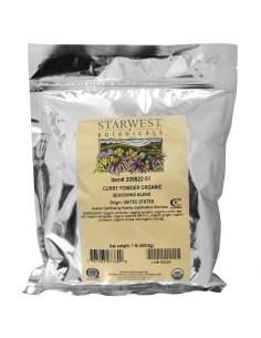 Starwest Botanicals Bio-Currypulver 453g