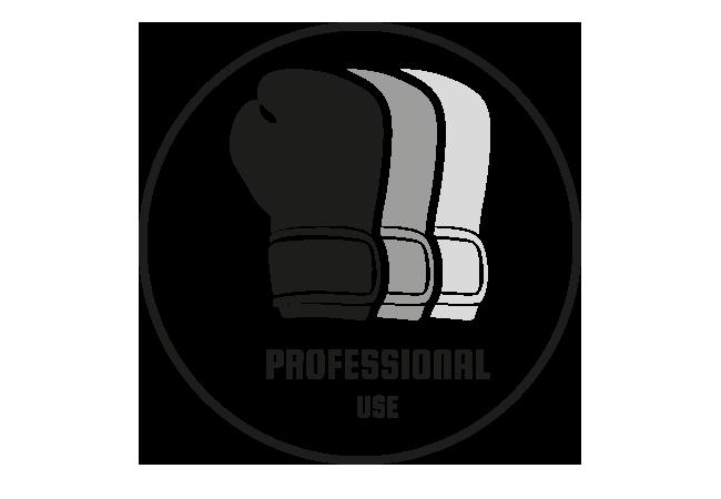 Professioneller Gebrauch. Für professionelle Kämpfer und ambitionierte Sportler die auf Qualität setzen. Intensität ist ab 5 bis 7 mal Training in der Woche ausgelegt.